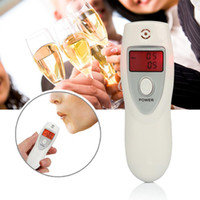 alcohol breathalyzer results - Mini Semiconductor Digital display results alcohol tester breathalyzer Alcohol Detector analyzer with Red backlight display