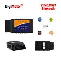 bd cars - NEW code reader Diagnostic Tool mini ELM327 Bluetooth OBD2 scanner V2 ELM obd car bd ii blutooth