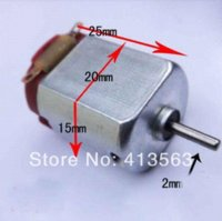 battery experiments - 10pcs v rpm Four Wheel Drive Motor Micro DC Motor Scientific Experiments Toy accessories