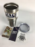 beer bottle tops - Top Sale Yeti Stainless Steel Yeti oz Cups Cooler YETI Rambler Tumbler Cup Vehicle Beer Mug Double Wall Bilayer Vacuum Insulated