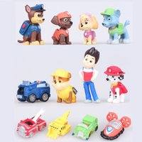 dongs - 12pcs kids Toy Figures cm dongs patrol cartoon model doll best gift for children