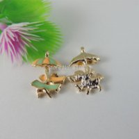 Wholesale Gold Tone Alloy Beach Chairs Shaped Pendant Charms Jewelry Findings mm charm bracelet hello kitty