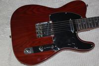 Guitarra Custom Shop Limited George Harrison TL del Telecaster de raso natural eléctricas con cuerdas a través del cuerpo, Tradicional Deluxe F sintonizador Machine Head