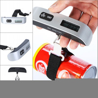 Wholesale balanza Digital scale Electronic Portable Luggage scale Suitcase Travel Bag Weight Hanging Scales balance musculation