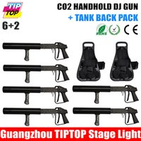 Wholesale TIPTOP Freeshipping Special Effects Cryo CO2 Jet Gun with CO2 cryo gun backpack Strap lb CO2 Siphon Tank cryogenic hose for FREE