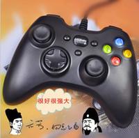 Precio de Controladores de xbox para la venta-Xbox one 360 controlador USB cable de cable PC juegos controladores joysticks Gamepad choque con cajas al por menor para PC portátil Xbox xbox venta caliente
