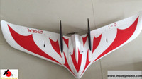 airplane red - C chaser FPV UAV flying wing RC airplane model KIT PNP mm wingspan EPO foam model drones