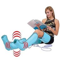 air compression leg massager - Body Slender Slimming Thigh Foot Leg Massager Air Compression Legs Massage Wraps Boots Socks Heating Sauna Belt Relax Therapy Ma