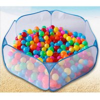 Wholesale Children Kid Toys Ocean Ball Pit Pool Play Tent Game Indoor Outdoor Baby Toys for Children Gift Garden Playhouse WB521