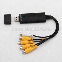 DVR Video Adapter Capture USB USB 4 canaux Meilleures ventes câble rca adaptateur usb carte nic sans fil