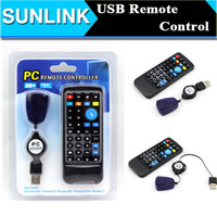 Cheap 100pcs Universal USB Remote Control for PC Laptop Computer XP Vista Win7 AC02 with the retail package