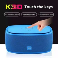 2 best portable speakers for iphone - Bluetooth Speakers Super Deep Bass Portable Wireless Subwoofer K3 Best Quality Handsfree Calling TF Card FM for iPhone Plus MP3 Player K3