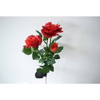 Wholesale Solar LED Rose Lights for Outdoor Garden Decoration with Solar Powered Color Red