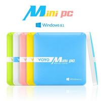 atom mini computer - 2GB RAM GB GB ROM Voyo Mini PC Windows Intel Atom Z3735 Quad Core Mini Computer PC for office with Bluetooth WiFi