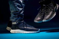 Wholesale 2016 Dark Blue Mens Boots Free Mercurial Superfly SP Dark Obsidian HTM Winter Boots