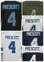 Wholesale cheap Cowboys Dak Prescott Newest Limited Men s football jerseys Embroidery Name and Logos S M L XL XXL XXXL