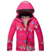 Wholesale high quality ski suits women windproof waterproof winter warm snow jacket ski suit women