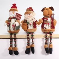 best buy offer - Special Offer buy off50 Santa Claus Snow Man Reindeer Doll Christmas Decoration Xmas Tree Hanging Ornaments Pendant Best Gift
