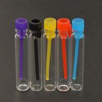 Tester perfume Prix-Rechargeable Mini Parfum Flacon en verre 1ML 2ML 3ML Parfum liquide Bouteille d'échantillon Testeur Bouteille Tube Huile Essentielle Cap Colorful Livraison gratuite