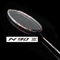 badminton racket lining - li ning lining badminton racket N90 lining badmintons rackets N90iii n90iv carbon badminton racquet li ning