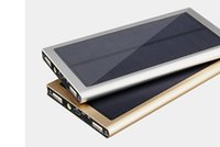 Wholesale Hot Selling Dual USB Solar Battery Chargers mAh Portable Solar Energy Panel Charger Power Bank For Cellphone