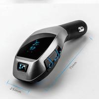 Wholesale Car MP3 Andio Wireless Bluetooth LCD SD MMC FM Transmitter Modulator USB Charge antomatic MP3 Player