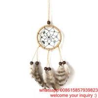 art supplies india - Green Gravel Dreamcatcher handmade crafts ornaments car supplies creative gifts Circle diameter cm