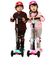 abc environmental - Children s scooter Thickening T lock screens ABC bearing Non slip pedal Environmental protection PP material High quality tb21010