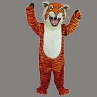 bengal cotton - High quality Bengal Tiger Mascot Costumes Halloween Christmas Birthday Party Dress Costume Adult outfit