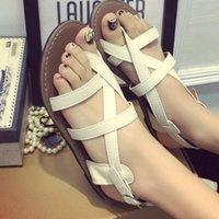 ancient roman sandals - Flat sandals women Roman shoes joker flat restoring ancient ways women s shoes casual shoes