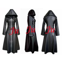 axel cosplay costume - Kingdom Hearts Axel Jacket Coat Organization Xiii Game Cosplay Costume Tailor made