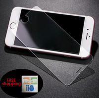 Wholesale Tempered Glass Film Screen Protector Iphone Iphone S Plus S Samsung Galaxy S7 S6 Without Package Ship out within day