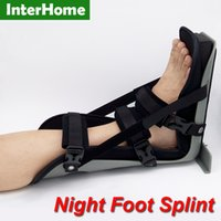 achilles tendonitis brace - Night Foot Splint Ankle Orthosis for Stroke Varus Foot Plantar Fasciitis Achilles Tendonitis Ankle Sprain Ligament injury Brace