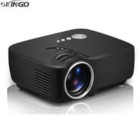 Wholesale High Quality Portable GP70 D Mini Projector Lumens Support x1080P LED Projector