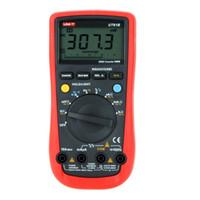 Wholesale UNI T UT B Modern Digital Multimeters UT61B AC DC Volt Amp Ohm Hz Temp Tester Meter