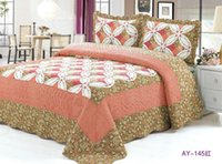 Wholesale X210CM Cotton Quilted Blanket Bed cover bed sheet piece Many colors available