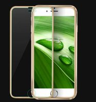 alloy steel hardness - 3 d surface small border titanium alloy steel membrane iPhone6 p joint toughened membrane