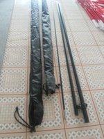 banner pole kit - Teardrop feather banner quot S quot quot M quot Szie Pole Kits M and m Length Pole kit Aluminum Fiberglass Pole Flying Flag Pole