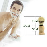 Wholesale 2016 Branded Man Face Cleaning Brush Black Handle Superfine Pure Blaireau Shaving Beard Brush Shaving Brush Male Cleaning Tool F543