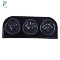 auto gauge kit - Oil Temperature Water Temperature Oil Pressure in Triple Gauge Kit mm Car Electrial Auto Gauge Car Meter