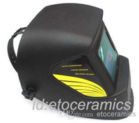 Wholesale New Black pro Solar Auto Darkening Welding Helmet Arc Tig mig mask grinding Lots24