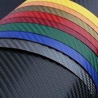 127 * 30CM 3D en fibre de carbone vinyle voiture d'emballage Foil, fibre de carbone autocollant de voiture Décoration, Hight qualité autocollant de voiture