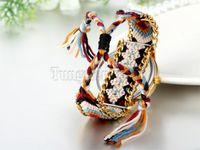 antiques thailand - Thailand Women Dress Watches Fashion Cartoon Elephant Pattern Casual Quartz Wrist Watches Ladies Braided Rope Bracelet Watch