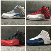 Wholesale Flu game Retro s mens basketball shoes french blue sneaker gym red outdoor sports athletic trainer footwear for women