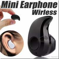 Wholesale Bluetooth Earphone mini Stereo Light Wireless Invisible Headphones in ear Music answer call S530 For Apple Iphone