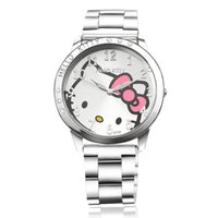 analog kit - Hello kit lady watch with kids quartz movement for the child