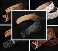 automatic boy - 2016 new hip brand buckle designer l belts for men women genuine leather gold cinto belt Men s v