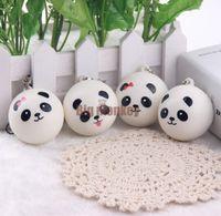animal cells plant - 40pcs CM PU STYLES Kawaii Mini Panda Couple Squishy Cell Phone Charm