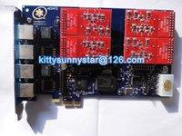 Wholesale AEX410 FXO PCIe card Supports Asterisk Freepbx Elastix Trixbox