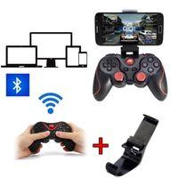 Wholesale Fashion Bluetooth T3 Joystick Game Gamepad Controller Joystiker Bracket Mount For Android Smart Phone TV box PC TV games